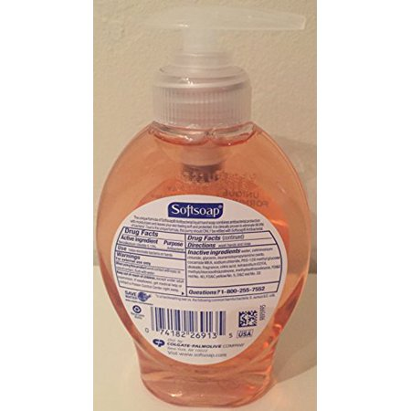 Softsoap Antibacterial Hand Soap With Moisturizers, Crisp Clean - 5.5 Oz