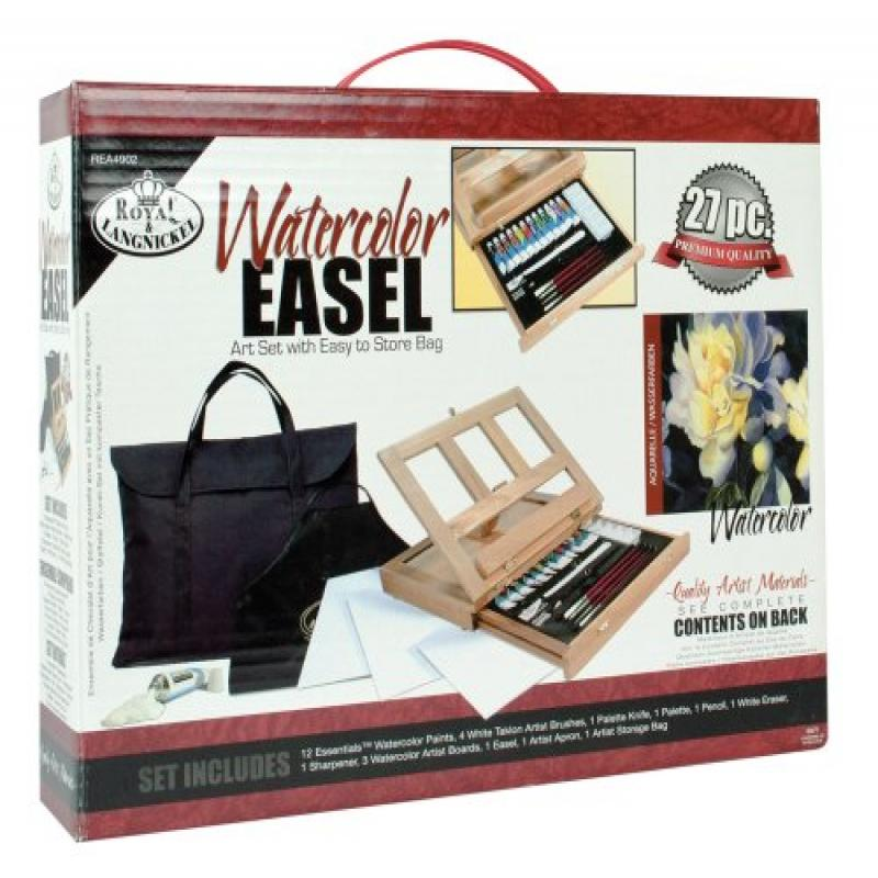 Royal & Langnickel Watercolor Easel Art Set with Easy to ...