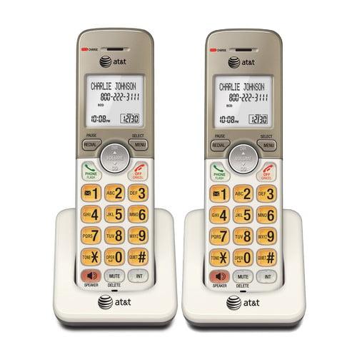 ATT EL50013 2-Pack Cordless Extension Handset
