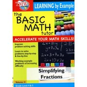Basic Math Tutor: Simplifying Fractions by