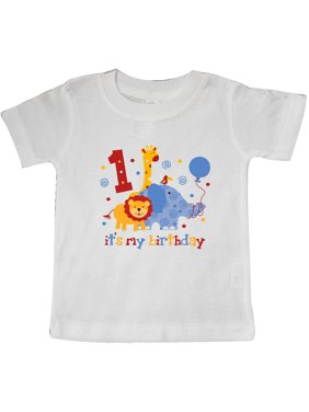 d4776e50 Product Image Safari 1st Birthday Baby T-Shirt