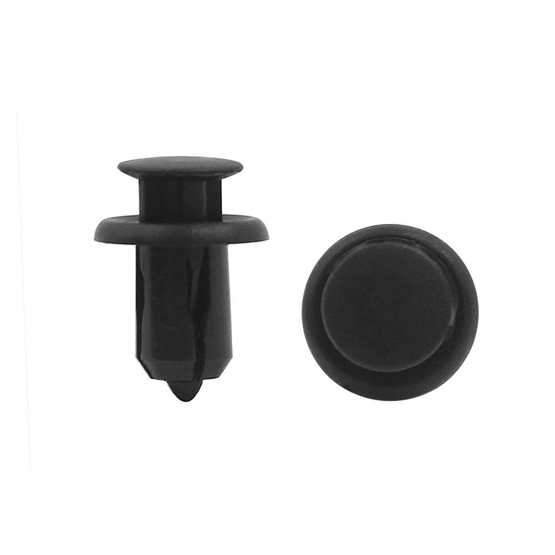 20X 11mm Hole Plastic Rivets Fastener Push Clips Clip Car Auto Bumper Fender LIP