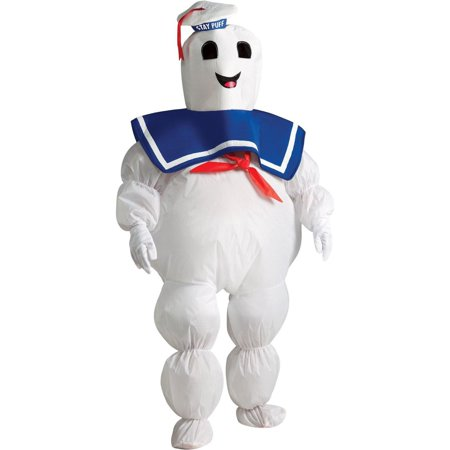 Ghostbusters - Stay Puft Marshmallow Man Inflatable Child Costume - One Size Fits Most Kids - Infant Ghostbuster Costume