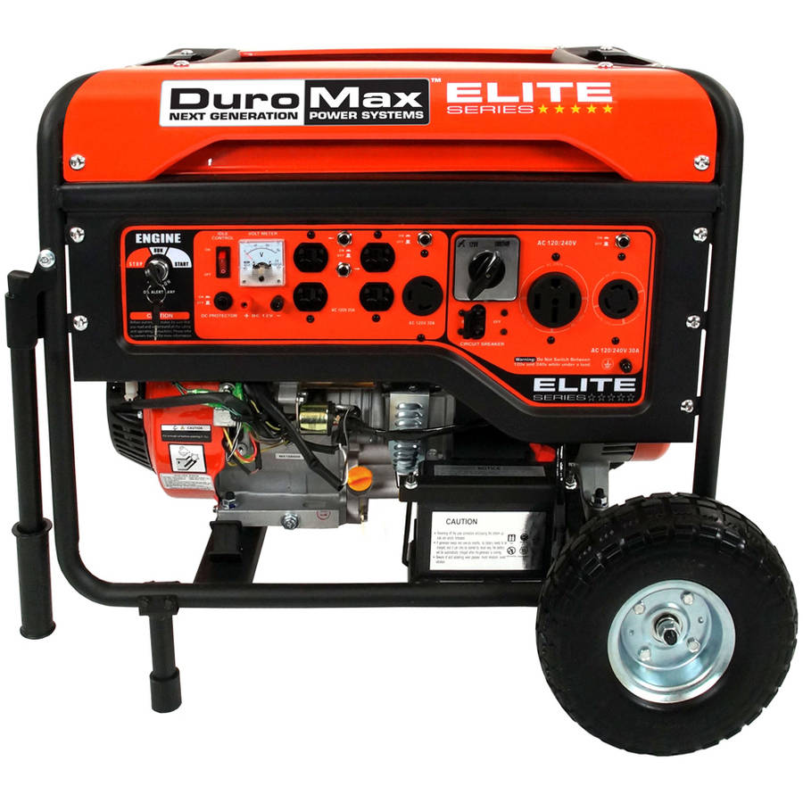 DuroMax Elite 10000W 16Hp Electric Generator Walmartcom