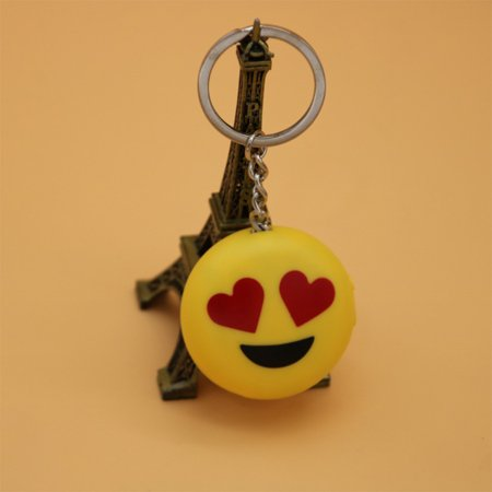Creative Smiley Emoji Fool's Day Funny & Prank Tools, Electric Shock Toys with LED Lights and Laser Heart eyes - image 6 de 6