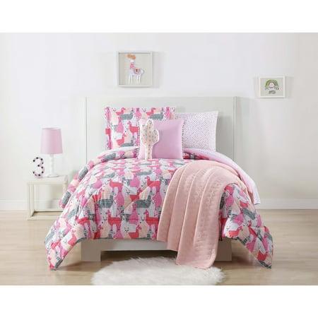 Twin XL Llama Comforter Set - My World