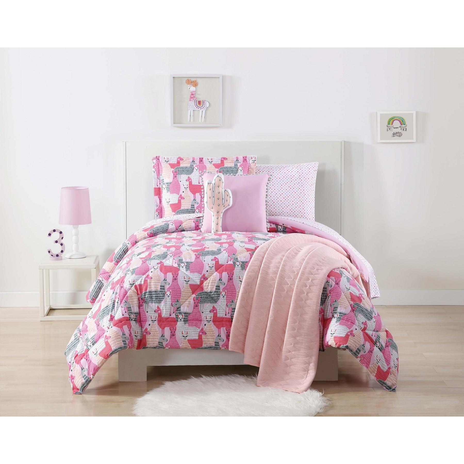 Laura Hart Kids Llama Llama Printed Twin XL Comforter Set