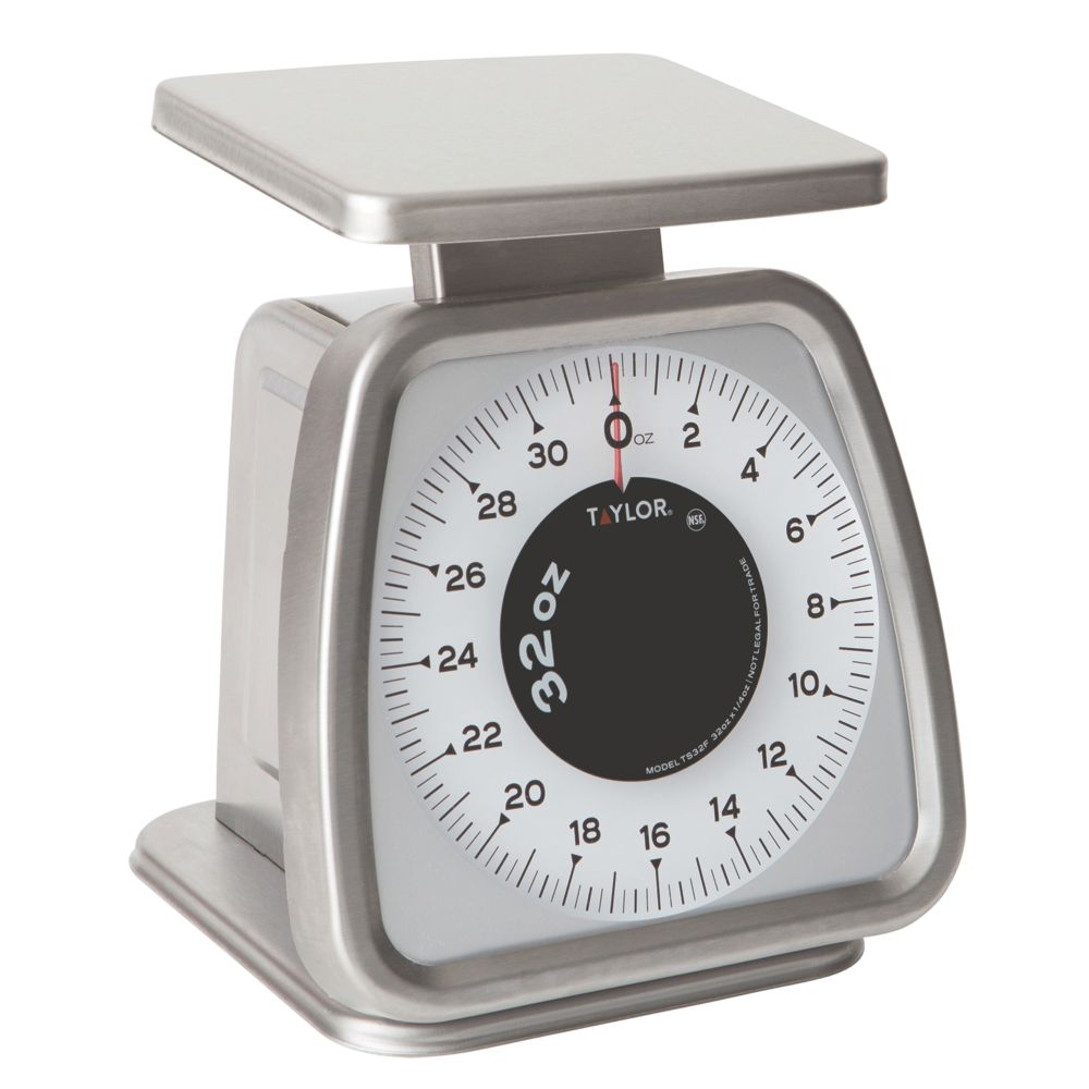 Taylor Precision TS32F S/S Fixed Dial 2 Lb. Portion Scale