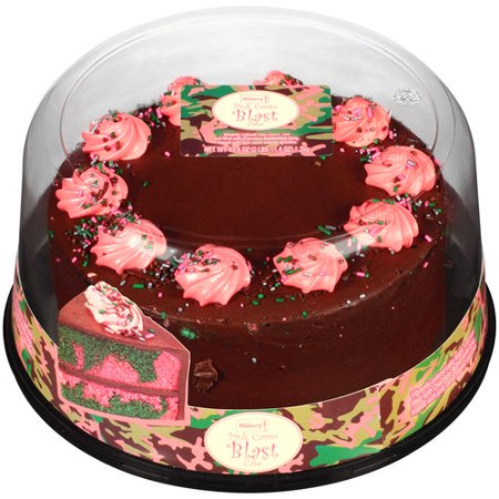 The Bakery At Walmart Pink Camo Blast Cake 434 Oz