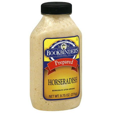 Reese Prepared Horseradish (Old Original Bookbinder's Prepared Horseradish, 9.75 oz, (Pack of)