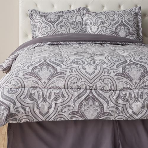 Landau Paisley 4 Piece Comforter Set King
