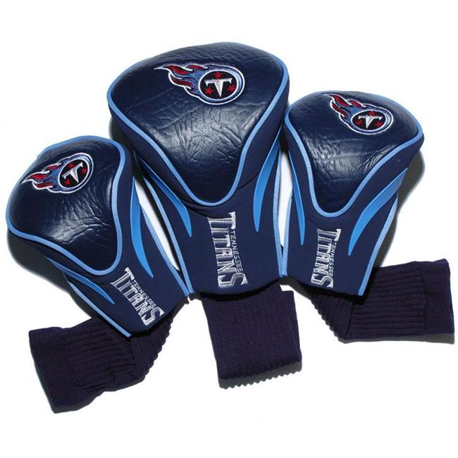 Team Golf 33094 Tennessee Titans 3 Pack Contour Fit Headcover