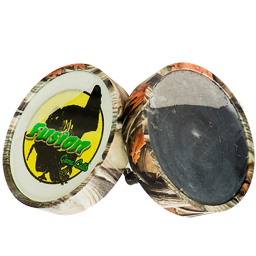 Image of Cherokee Sports Fusion The FlipPot Slate/Glass Turkey Call