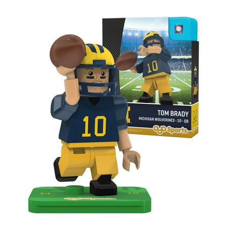Michigan Wolverines Ncaa Tom Brady Oyo Mini Figure