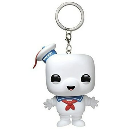 The Stay Puft Marshmallow Man (FUNKO POCKET POP! KEYCHAIN: GHOSTBUSTERS - STAY PUFT MARSHMALLOW)
