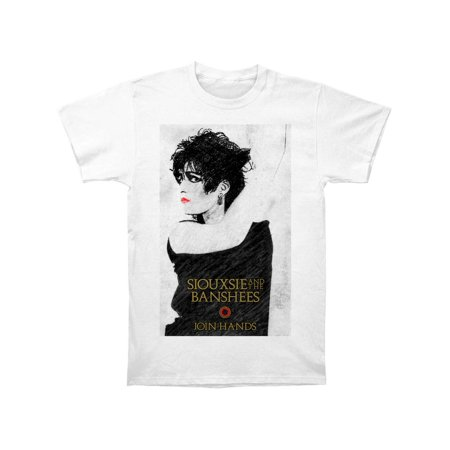 Siouxsie And The Banshees Men's  Join Hands Slim Fit T-shirt White - Halloween Siouxsie And The Banshees
