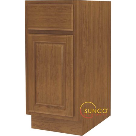 Sunco inc 35 8 39 39 x 15 39 39 kitchen base cabinet for 15 inch kitchen cabinets