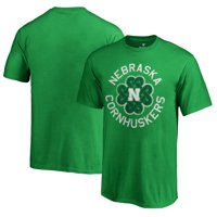 Nebraska Cornhuskers Fanatics Branded Youth St. Patrick's Day Luck Tradition T-Shirt - Kelly Green
