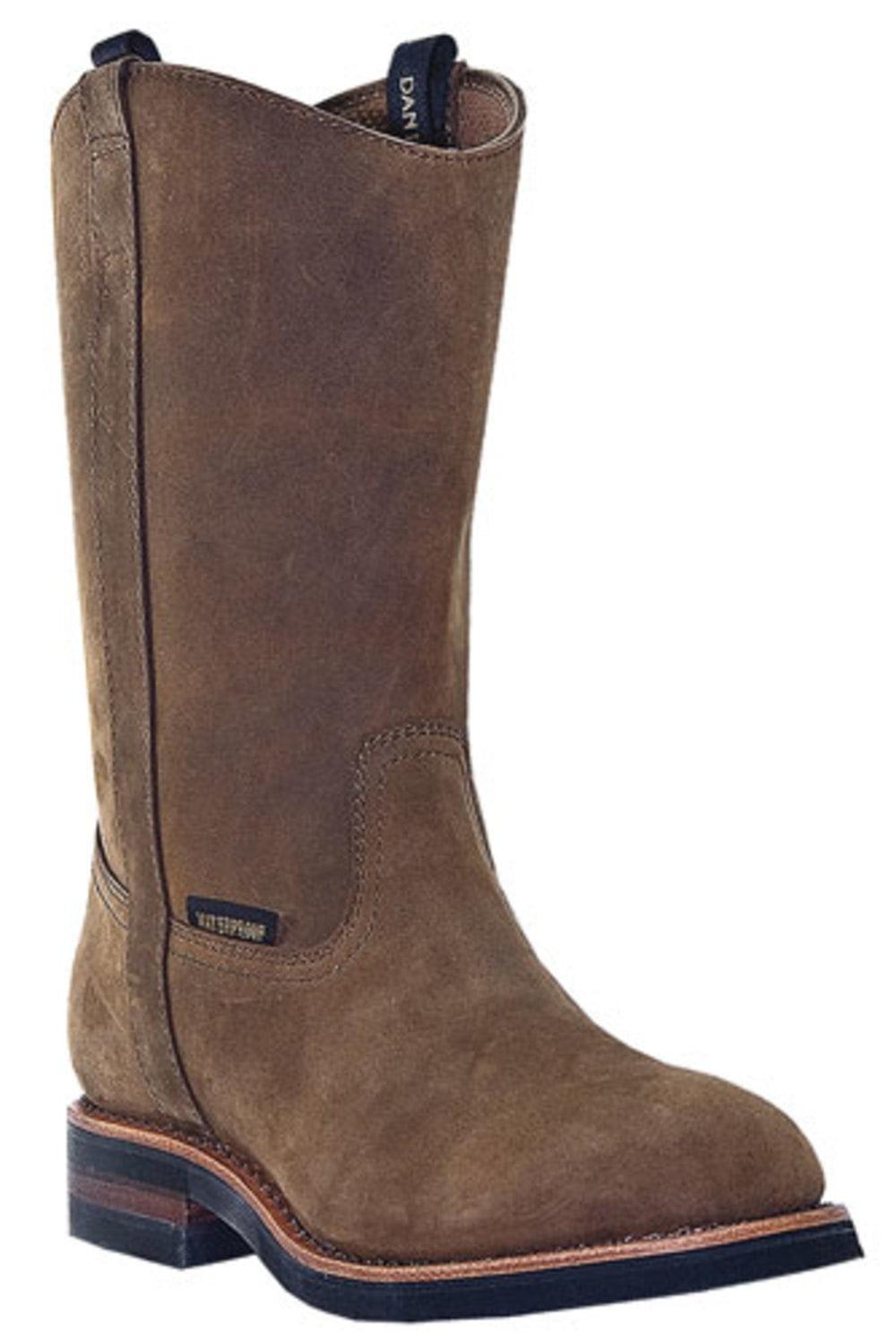 Men's Dan Post WP Leather Wellington Boots TAN 9 EW