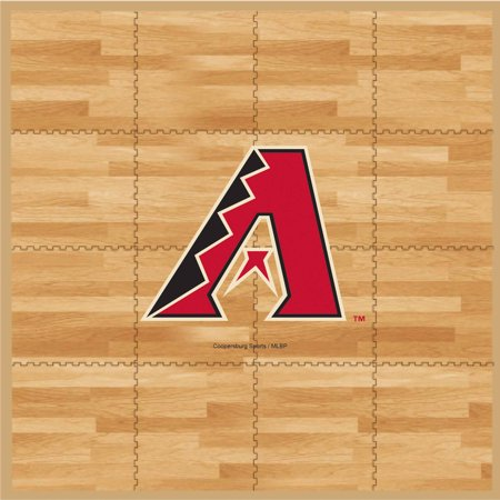 MLB Arizona Diamondbacks Portable Foam Puzzle Tailgate Floor Mat by