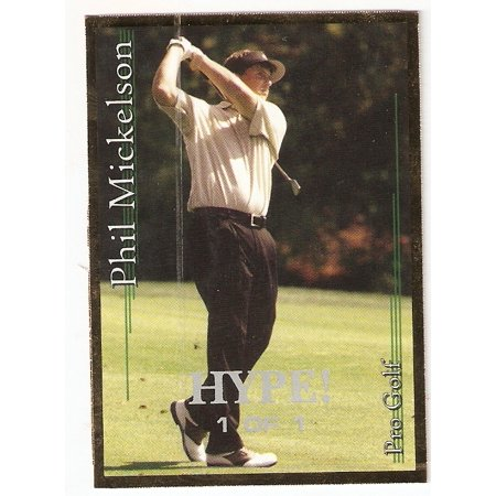 Phil Mickelson 2001 Sports Card Investor Gold HYPE 1/1 Golf True Rookie Card