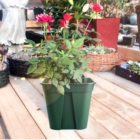 Breathable Plastic Flowerpot Cuttage Planting Plant Pot for Clematis China Rose Decoration - image 1 of 6