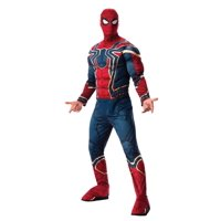 Red and Blue Spider-Man Avengers Men Adult Halloween Costume - Standard