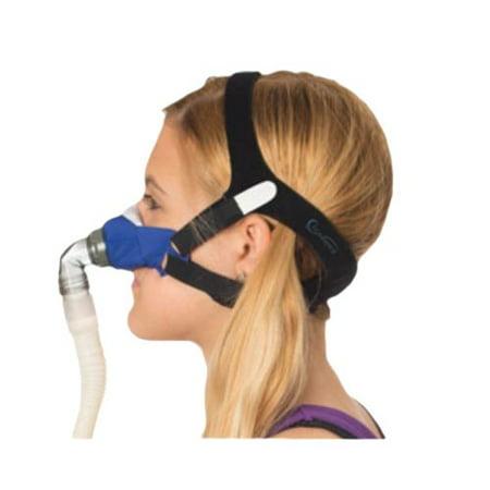 Circadiance SleepWeaver 3D Soft Cloth Nasal CPAP Mask with Headgear, Regular Size