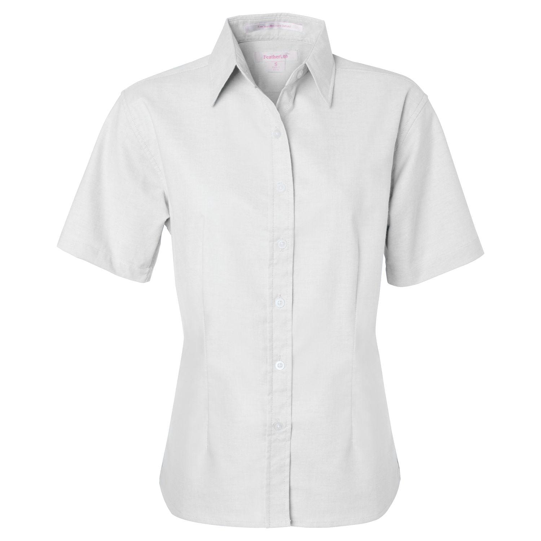 Featherlite Featherlite 5231 Women S Short Sleeve Stain Resistant