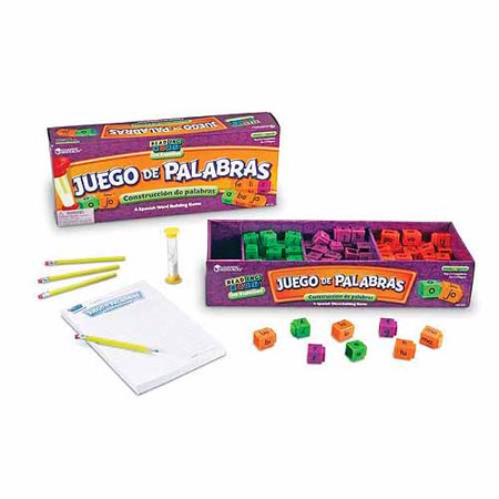 Learning Resources Juego De Palabras Spanish Word Game