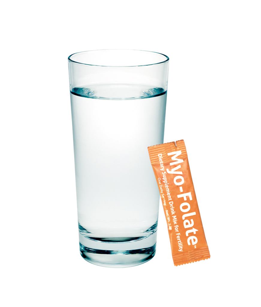 Myo-Folate: A Drinkable Fertility Supplement to Support