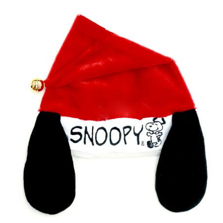 Peanuts Christmas Snoopy Santa Hat (Bah Humbug Christmas Hat)
