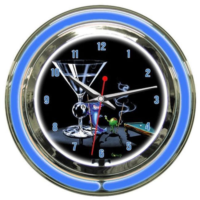 Petro Enterprises GODNC18-10 Pool Shark II 18 ft. Neon Clock