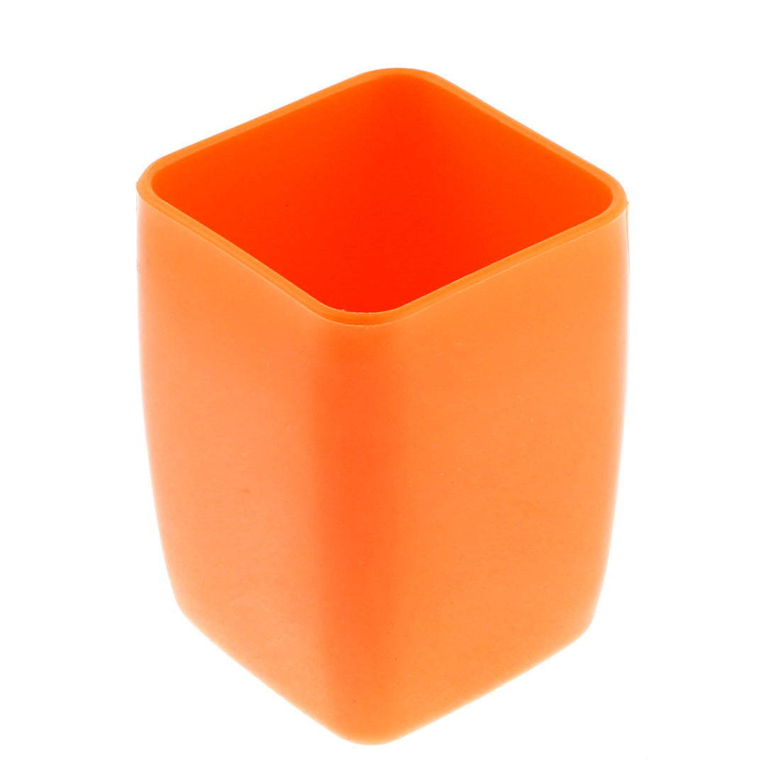 Unique Bargains Bathroom Plastic Cuboid Shape 200ml 9cm Height Water Toothbrush Holder Gargle Cup - image 1 of 2