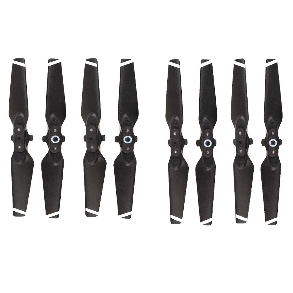 DZT1968 8pcs Propellers for DJI Spark Drone Folding Blade 4730F Props RC Spare Parts