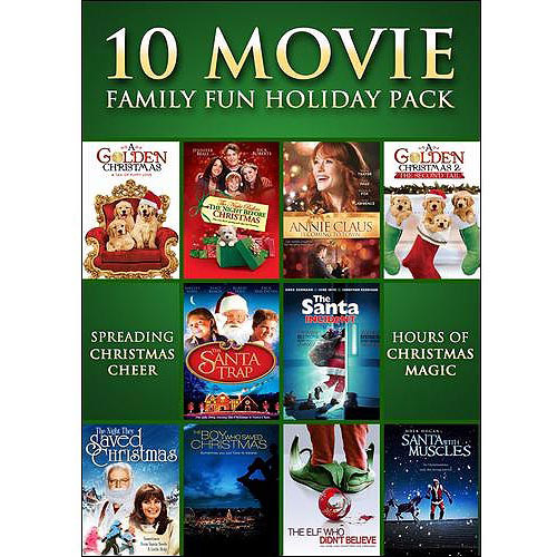 10 Movie Family Fun Holiday Pack (Widescreen)