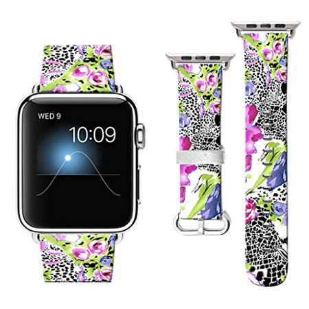 38 mm Apple Watch Band, Watchbands for Apple Watch, Apple Watch Bands Compatible with Apple Watch Nike+ Series 2 Series 1 Spo (Nike Gps Watch Band)