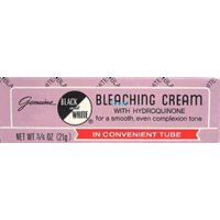 Black & White w/Hydroquinone Bleaching Cream  0.75 oz