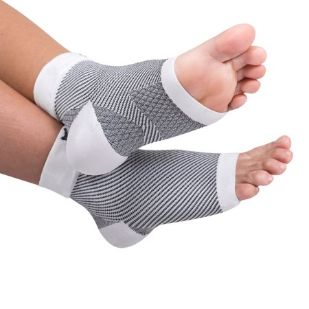Bitly Plantar Fasciitis Socks White (Best Plantar Fasciiti Sock)