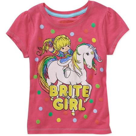 6c39eab2f Online - Baby Girls'- Rainbow Brite Short Sleeve - Walmart.com
