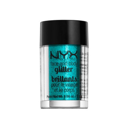 Nyx Glitter - (3 Pack) NYX Face & Body Glitter - 03 Teal