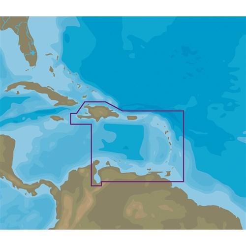 C-Map NT+ NA-C510 Eastern Caribbean Sea - C-Card Format E...