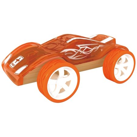 Hape Bamboo Collection - Twin Turbo Bamboo Kid's Toy Car, Start your engines, this Mighty Mini is ready to go By Hape