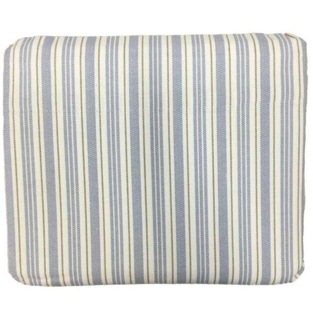"CUDDL DUDS Twin Heavyweight Cotton Flannel Sheet Set /""BLUE STRIPE/""New In Package"