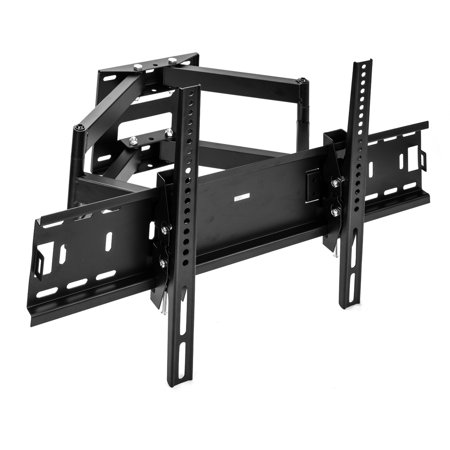 sunydeal full motion two strong arm tilt swivel tv wall mount bracket for samsung vizio sony tcl. Black Bedroom Furniture Sets. Home Design Ideas