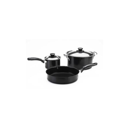 Stick Set - Nordic Ware 12655 5 Piece Non Stick Cookware Set