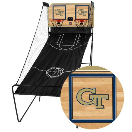 GA Tech Yellow Jackets Classic Court Double Shootout Basketball Game - No Size ()