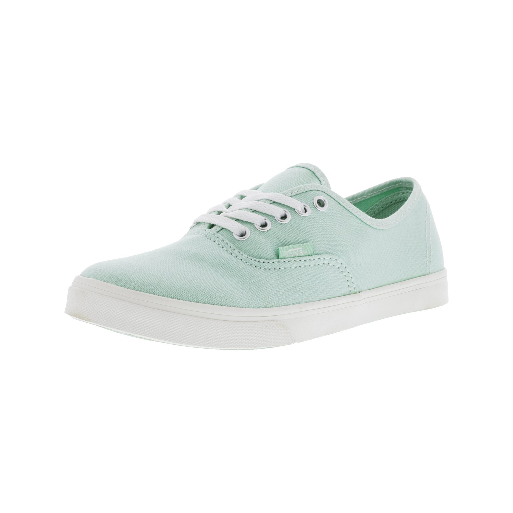 faf47c97e2 Vans Authentic Lo Pro Gossamer Green   Blanc De Ankle-High Cotton  Skateboarding Shoe - 9M 7.5M