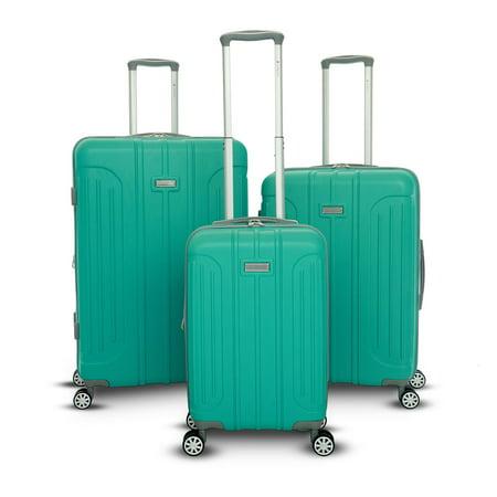 Gabbiano Viva Collection 3 Piece Hardside Spinner Luggage Set