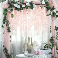 Efavormart 4 Ft Artificial Wisteria Vine Hanging Garland for DIY Wedding Bouquets Centerpieces Arrangements Decorations